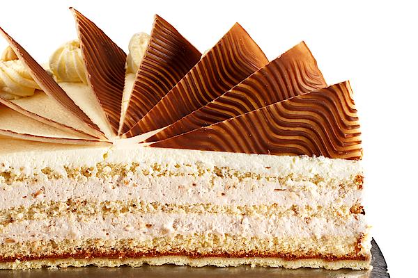 Zink Backerei Konditorei Nuss Sahne Torte